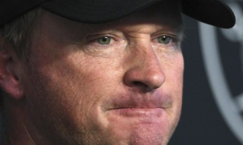 Buccaneers remove Jon Gruden from franchise's Ring of Honor