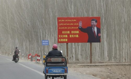 Desert-circling rail line latest link in China's push for influence, control
