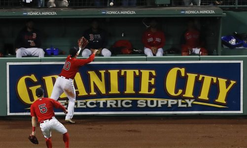 Double trouble: Red Sox bounce Rays in 13 after odd wall call