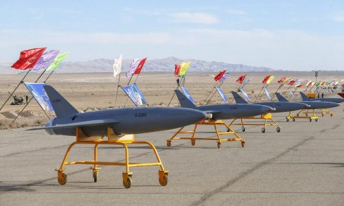Iran smuggling high-tech drones to militant allies, opposition group says