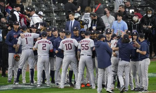 Jose Altuve, Astros going back to ALCS after topping White Sox