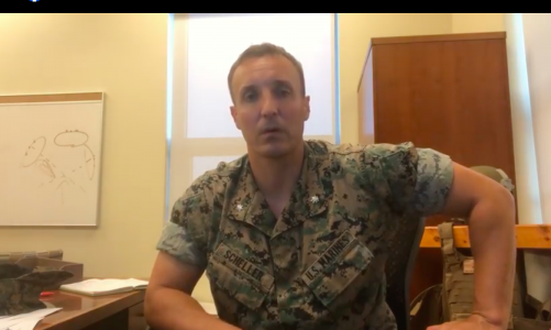 Lt. Col. Scheller to remain in the brig until next week without charges