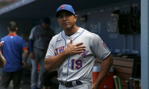 Mets let go manager Luis Rojas after two losing seasons